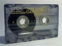 TDK CDing2 60 CHROME CASSETTE TAPES.