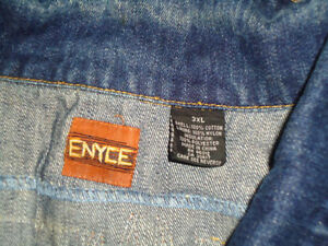 **ENYCE****BLUE JEAN DENIM JACKET MENS XXXL 3X 3XL Kingston Kingston Area image 3