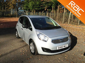 2010.60.KIA VENGA 1.1.4 CRDI TURBO DIESEL.ECODYNAMICS.FIVE DOOR.SILVER.