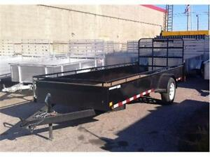 STEEL SINGLE AXLE UTILITY TRAILERS FROM $2095