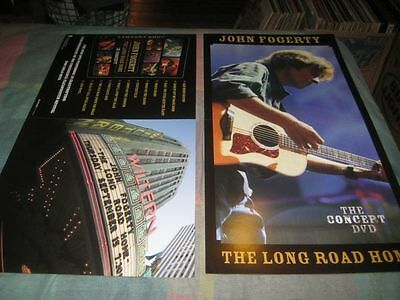 JOHN FOGERTY-(the concept dvd)-1 POSTER-2 SIDED-12X24-NMINT-RARE