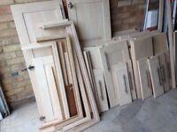 Howdens Beech Kitchen Doors For Sale