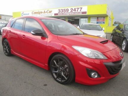2013 Mazda 3 BL1032 MY13 MPS Red 6 Speed Manual Hatchback
