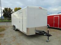 2016 Mirage Cargo Contractor Trailer 8.5X20 w. Barn Doors