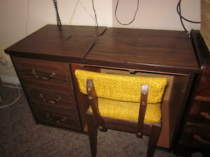 Sewing Cabinet & Chair