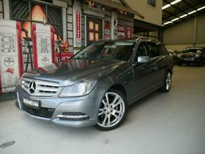 2011 Mercedes-Benz C-Class W204 MY11 C250 BlueEFFICIENCY Estate 7G-Tronic + Avantgarde Grey 7 Speed Rydalmere Parramatta Area Preview