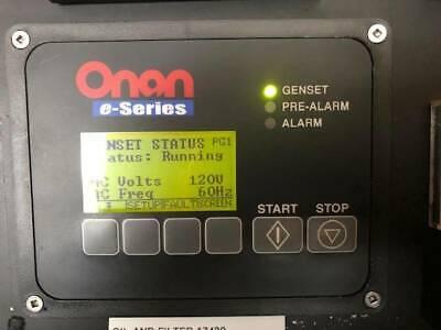 Cummins Onan 27.5 Mdkbs E-qd Series 27.5 Kw Marine Diesel Generator