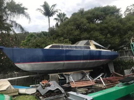 33ft Adams Steel Yacht