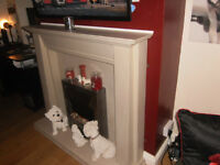 Stone Effect Resin Fireplace