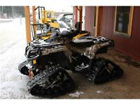 2016 CAN AM CAMO DEMO BIKE TRACKED OUT 1000 XT