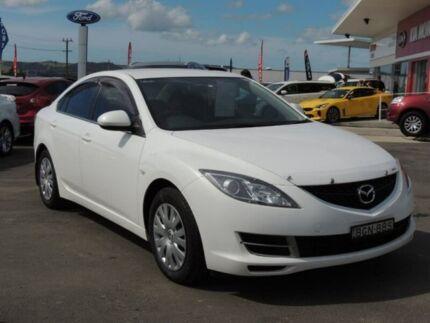 2008 Mazda 6 GH1051 Classic White 6 Speed Manual Sedan