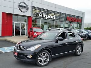 2013 Infiniti EX 2.5 SV NAVI Leather,sunroof ,heated power mirro
