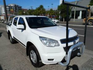 2014 Holden Colorado RG MY15 LS (4x4) White 6 Speed Automatic Crew Cab Pickup Rockdale Rockdale Area Preview