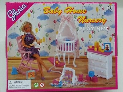 Gloria Baby Home Nursery (9929) for Doll Furniture