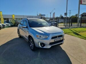 2014 Mitsubishi ASX XLS Silver Automatic Wagon Young Young Area Preview
