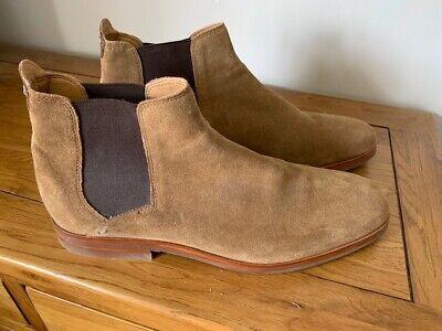Mens Hudson Tonti suede boots, size 11