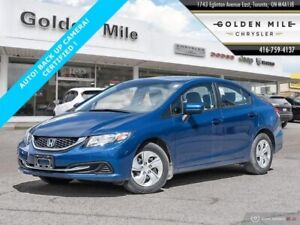 2015 Honda Civic ONLY 44000KMS! CERTIFIED