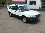 2006 Subaru Forester MY07 X White 4 Speed Auto Elec Sportshift Wagon Sutherland Sutherland Area Preview