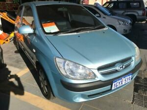 2006 Hyundai Getz TB Upgrade 1.6 Blue 5 Speed Manual Hatchback St James Victoria Park Area Preview