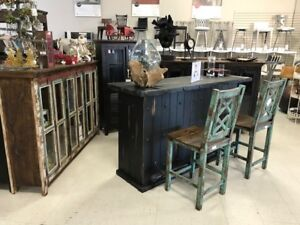 DINING SETS and RUSTIC FURNITURE