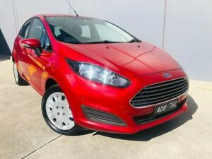 2014 Ford Fiesta WZ MY15 Ambiente PwrShift Red 6 Speed Sports Automatic Dual Clutch Hatchback Berwick Casey Area Preview