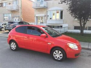2008 hyundai accent- AUTOMATIC-  COUPE SPORT- 108 000KM  2000$