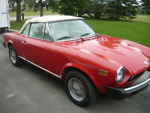 1977 Fiat 124 Spyder for sale or trade for boat