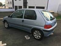 2002 plate Peugeot 106 independence 12 months mot