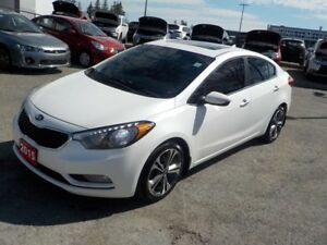 2015 Kia Forte SX **NAVI**LEATHER**ROOF** (((MUST SEE)))