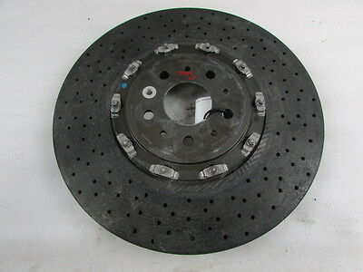 Ferrari California  Front Brake Rotor  Carbon Ceramic Ccm  Used  P N 257101