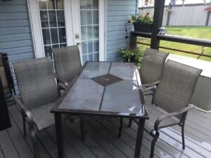 PATIO FURNITURE (8 PIECE)