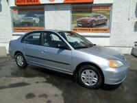 2003 HONDA CIVIC CERTIFIED ETESTED AUTOMATIC WITH AIR!!!!!