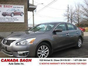 2014 Nissan Altima 2.5 , LOADED CAR, 12M.WRTY+SAFETY $10750