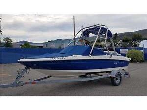 2006 Bayliner Boat 175 with Mercury I/O and trailer