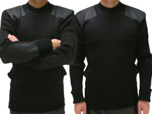 Black Tactical Sweater for Security and Military and Hikers