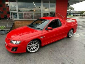 2005 Holden Special Vehicles Maloo Z Series R8 Utility Extended Cab 2dr Manual 6sp 6.0i Red Manual Como South Perth Area Preview