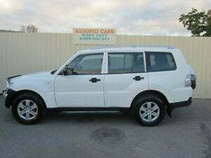 2008 Mitsubishi Pajero NS GLX LWB (4x4) Sophia White 5 Speed Auto Sports Mode Wagon Windsor Gardens Port Adelaide Area Preview