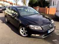 2011 VOLKSWAGEN PASSAT 2.0 TDI DIESEL BLUEMOTION TECH BLACK SALOON USE TAXI PCO NOT MONDEO INSIGNIA