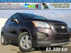 2014 Chevrolet Trax 1LT One Owner   AWD   PST Paid