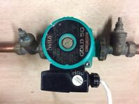 Central Heating Pump, Wilo Gold 50