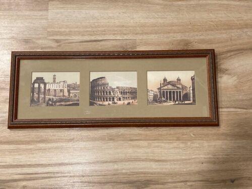 Rome: Roman Forum, Colosseum, Pantheon Framed Prints