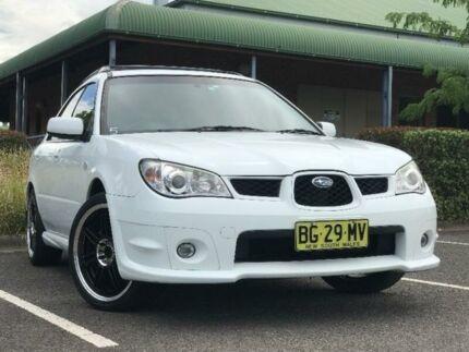 2006 Subaru Impreza S R Hatchback 5dr Auto 4sp AWD 2.0i [MY06] White Automatic Hatchback