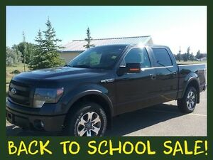 2014 F-150 Supercrew FX4  **LEATHER-NAV-SUNROOF**