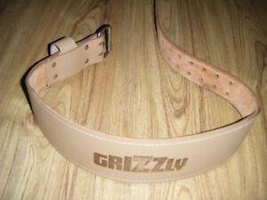 Grizzly weight lifting belt for sale