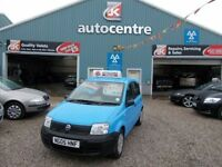 FIAT PANDA 1.1 ACTIVE 5d 54 BHP small engine size (turquoise) 2005
