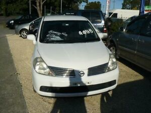 2007 Nissan Tiida ST ST 4 DOOR 6S White 6 Speed Manual Wauchope Port Macquarie City Preview