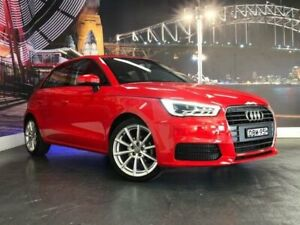 2015 Audi A1 8X MY15 Sportback S Tronic Red 7 Speed Sports Automatic Dual Clutch Hatchback Prospect Blacktown Area Preview
