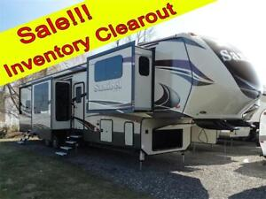 Sanibel 3901 5th Wheel RV Fall Inventory Clearout Sale!