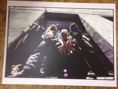 Stone Temple Pilots - Core 25th Anniv. Reissue Promotional Poster promo lp cd