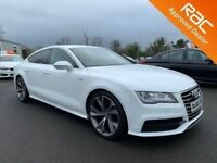 Late 2012 Audi A7 3.0 TDI Quattro S Line **Finance & Warranty** (a6,520d)